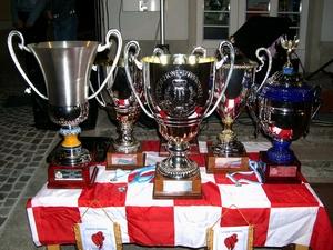 I trofei vinti dal Pennarossa